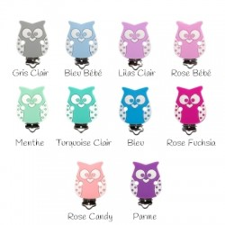 Pince hibou silicone